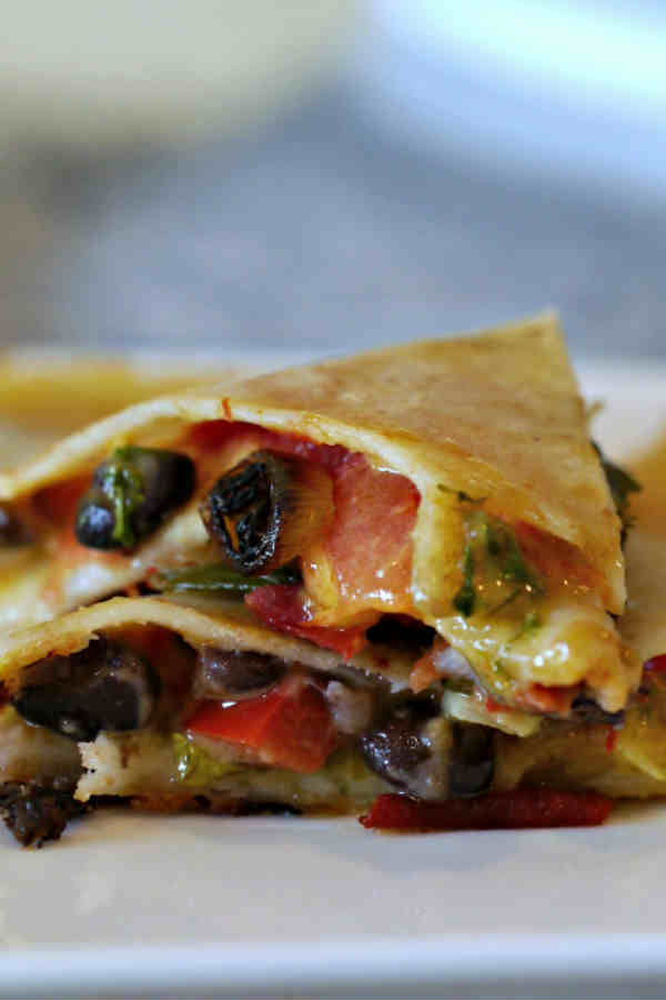 Black Bean Quesadilla – Gluten-Free