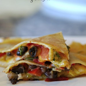 Black Bean Quesadilla – Gluten-Free