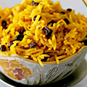 Scented Rice With Currants – Gluten Free