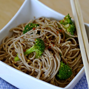 Spicy Soba Noodles With Broccoli