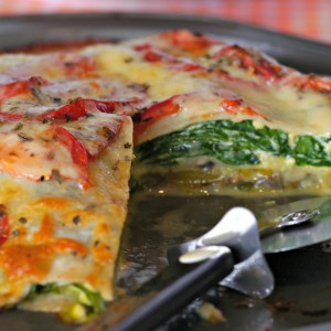 Gluten Free Layered Pizza