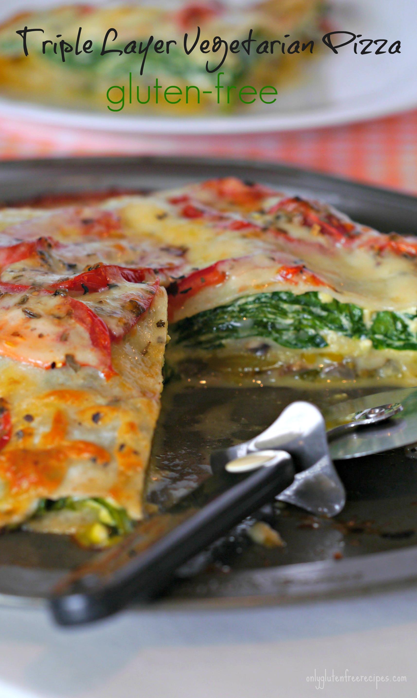 Gluten Free Layered Pizza