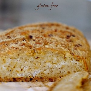 Rustic Cheese and Onion Bread – Gluten Free