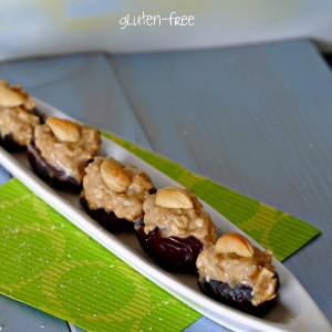 Dates Stuffed With Goat Cheese And Cashews