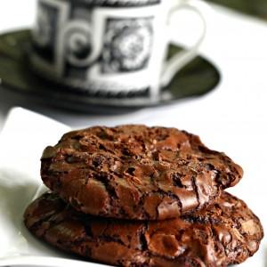 Gluten-Free Espresso Chocolate Cookies