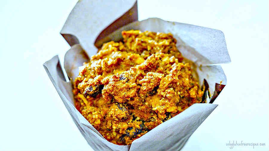 Gluten-Free Low Fat Pumpkin Muffins