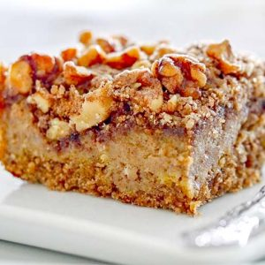 Gluten-Free Sweet Potato and Walnut Squares