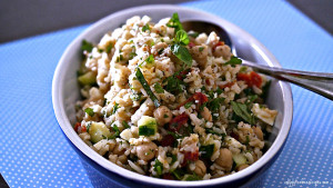 Gluten-Free Brown Rice Salad