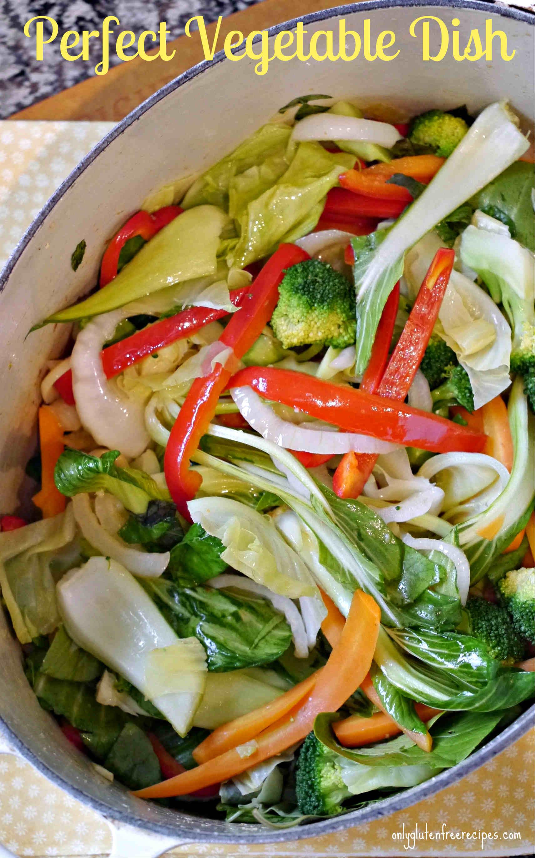 Medley of Sautéed Vegetables