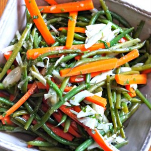Deluxe Green Bean Salad