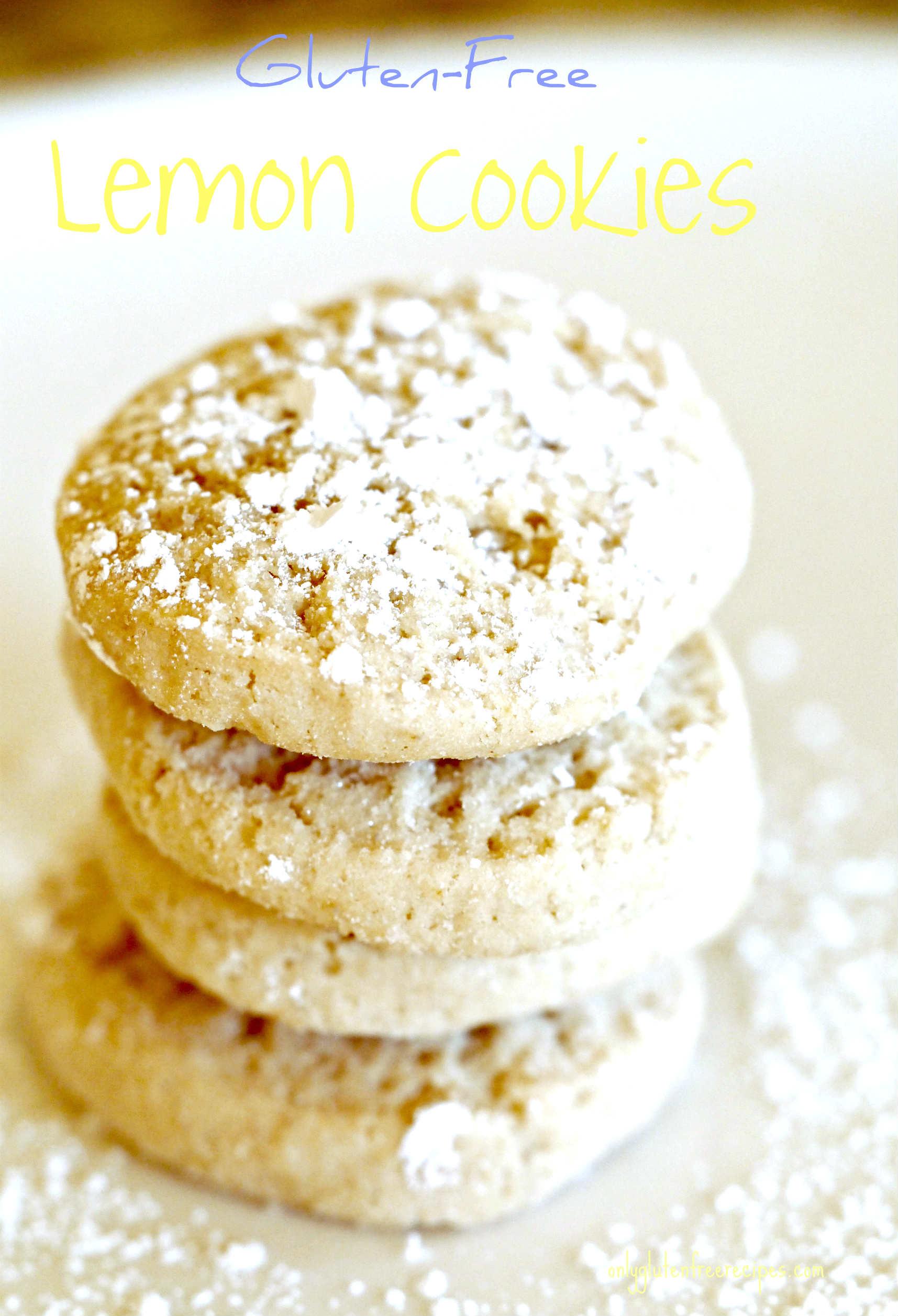 Gluten-Free Lemon Cookies