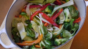 vegetables done to perfection