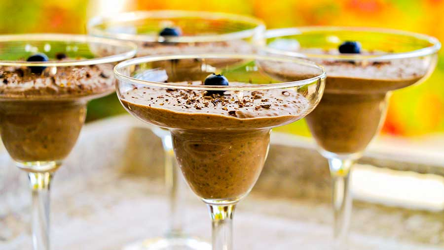 Chocolate Chia Pudding