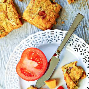 Gluten-Free Savoury Yam and Cheese Scones