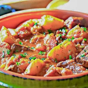 African Beef Stew – Recipe