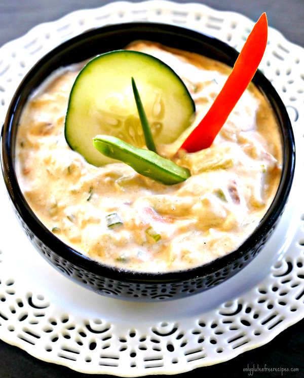 Deluxe Spiced Yogurt Dip