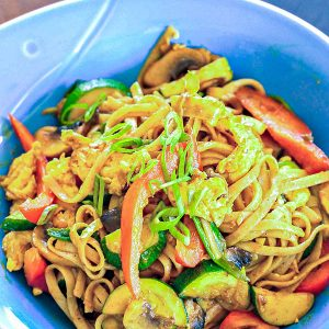 Gluten Free One Pot Singapore Noodles