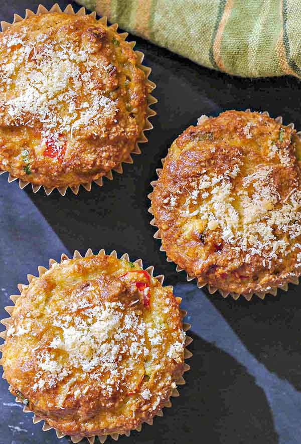 gluten-free pizza muffins