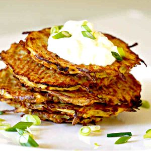 Baked Potato Pancake – Easy Recipe