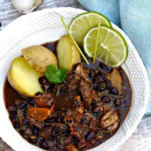Latin American Beef and Black Bean Ragout