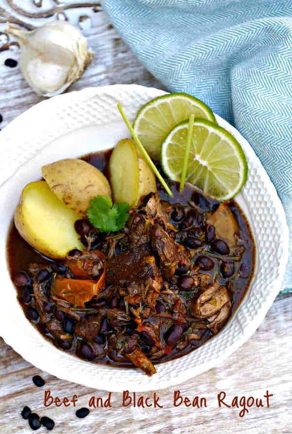Latin American Beef and Black Bean Ragout