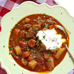 Authentic Hungarian Goulash