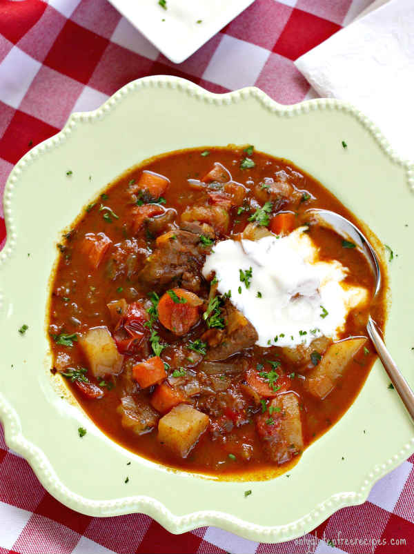 Authentic Hungarian Goulash (Gluten-Free)