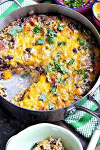 one pot vegetarian burrito, gluten free