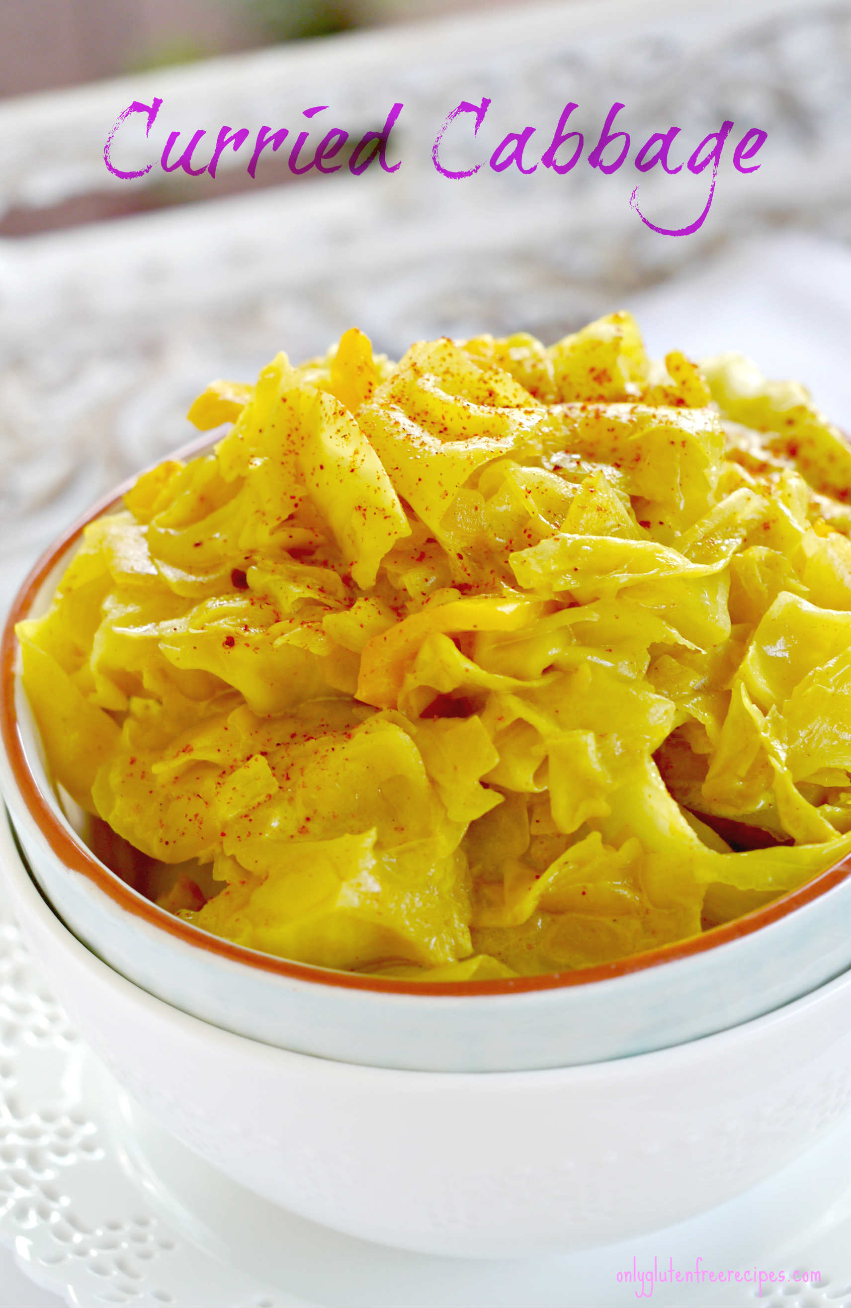 Curried Cabbage Recipe