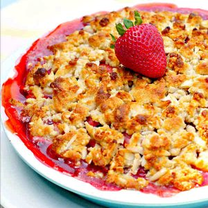 Easy Paleo Strawberry Pie Recipe