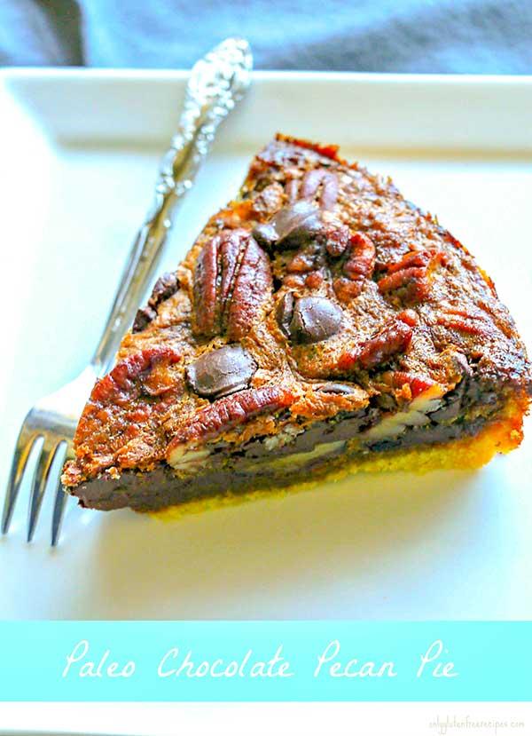 Easy Paleo Chocolate Pecan Pie Recipe