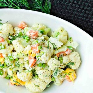 Gluten Free Cauliflower Salad