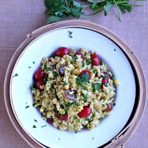 Gluten Free Curried Rice Salad