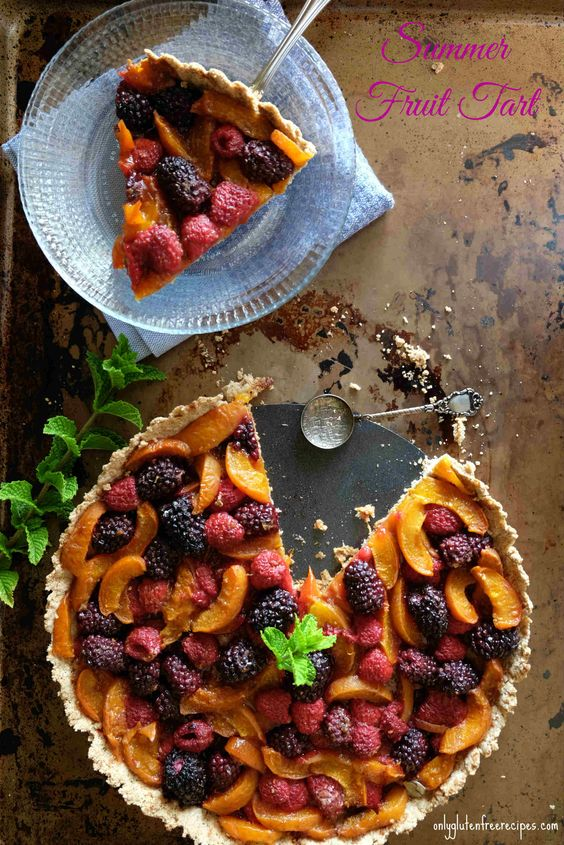 Gluten Free Fresh Fruit Tart