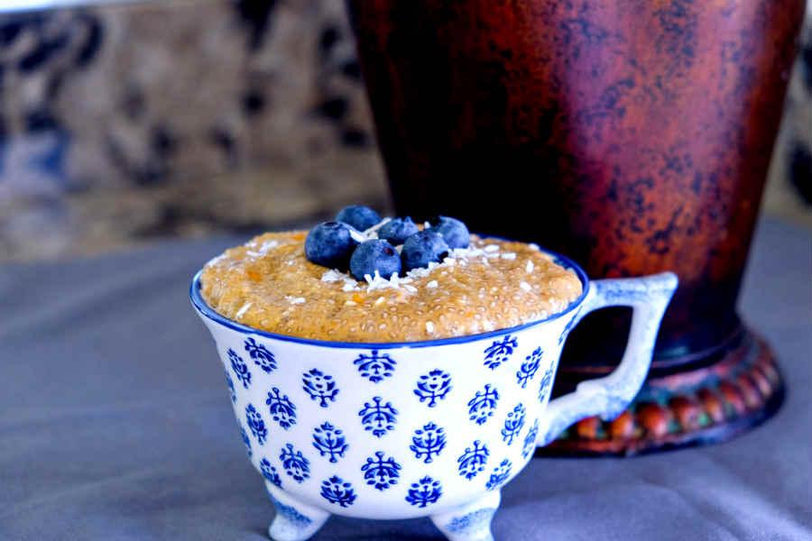 Turmeric Chia Pudding