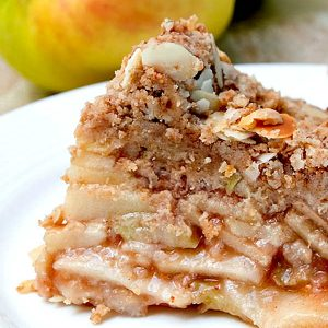 Gluten-Free Crust Free Apple Pie