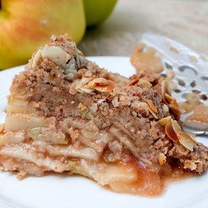 Gluten Free Apple Pie Without a Crust