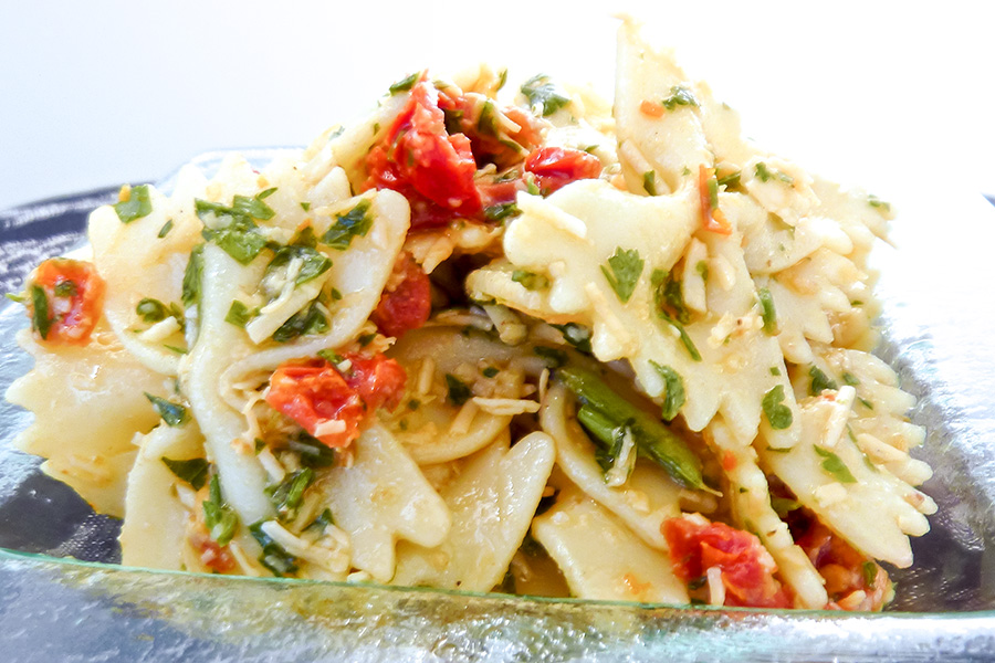Gluten Free Light Pasta Salad