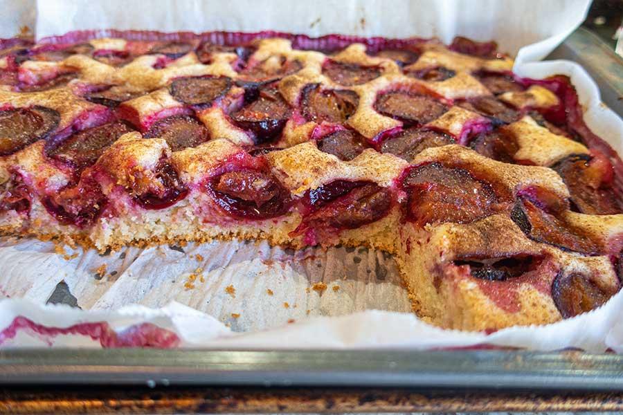grain free plum cake