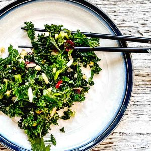 Sweet Summer Kale Salad