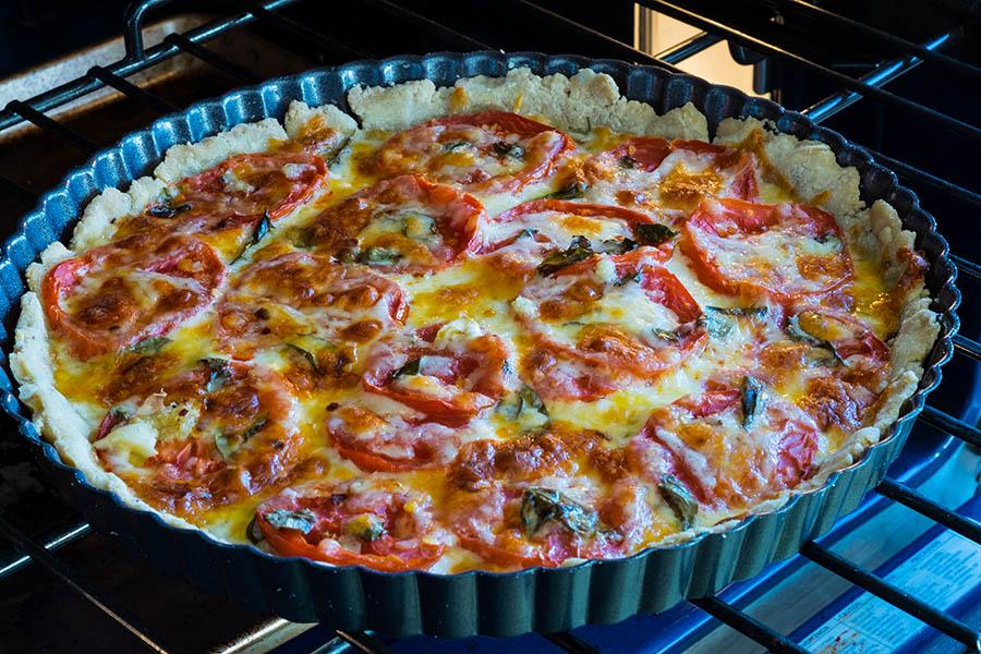 Gluten Free Tart Margherita