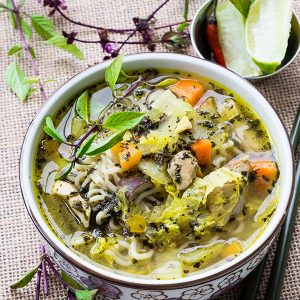 basil-and-lime-chicken-soup