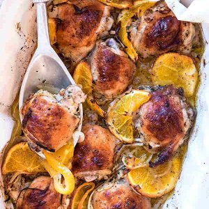 Roasted Orange Citrus Chicken Recipe