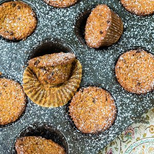Gluten Free Pistachio and Currant Muffins