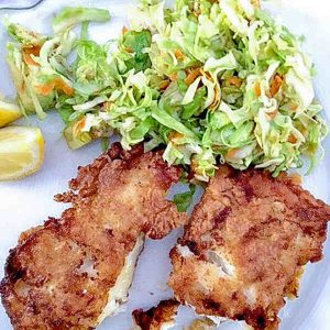Gluten Free English Crispy Fried Fish