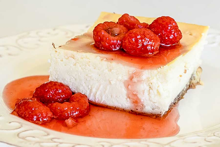 Gluten-Free Baked German Cheesecake