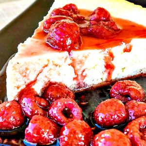 Gluten Free Baked German Cheesecake