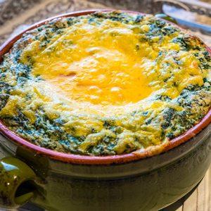 Gluten Free Spinach Soufflé Recipe