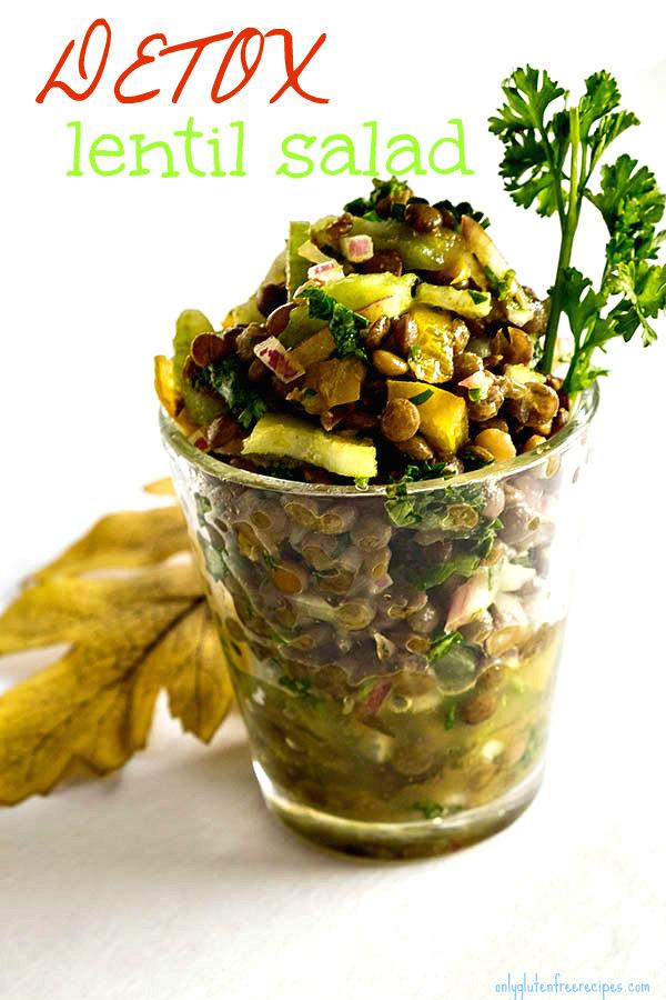 Detox Lentil Salad Recipe