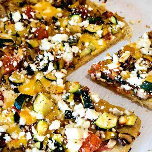 Gluten Free Greek Pizza Recipe